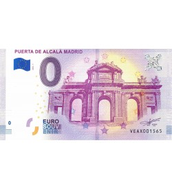 Euro Bills Alcala Gate Madrid