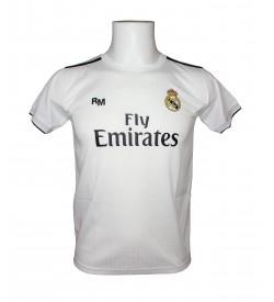 Camiseta Infantil Replica Real Madrid FC Primera Equipación 2018/2019