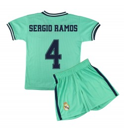 Kit Shirt and Pant Children Third Kit - Real Madrid - Authorized Replica - 4 - Sergio Ramos