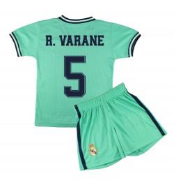 Kit Camiseta y Pantalón Infantil Tercera Equipación - Real Madrid - Réplica Autorizada - 5 - R. Varane